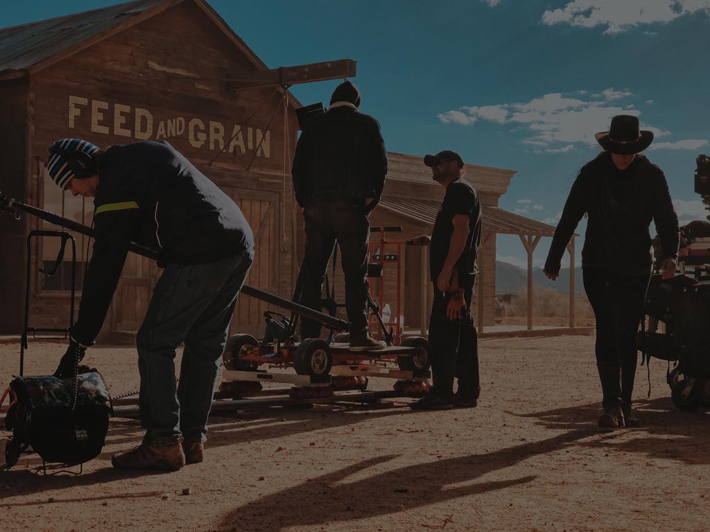 Western Film Set